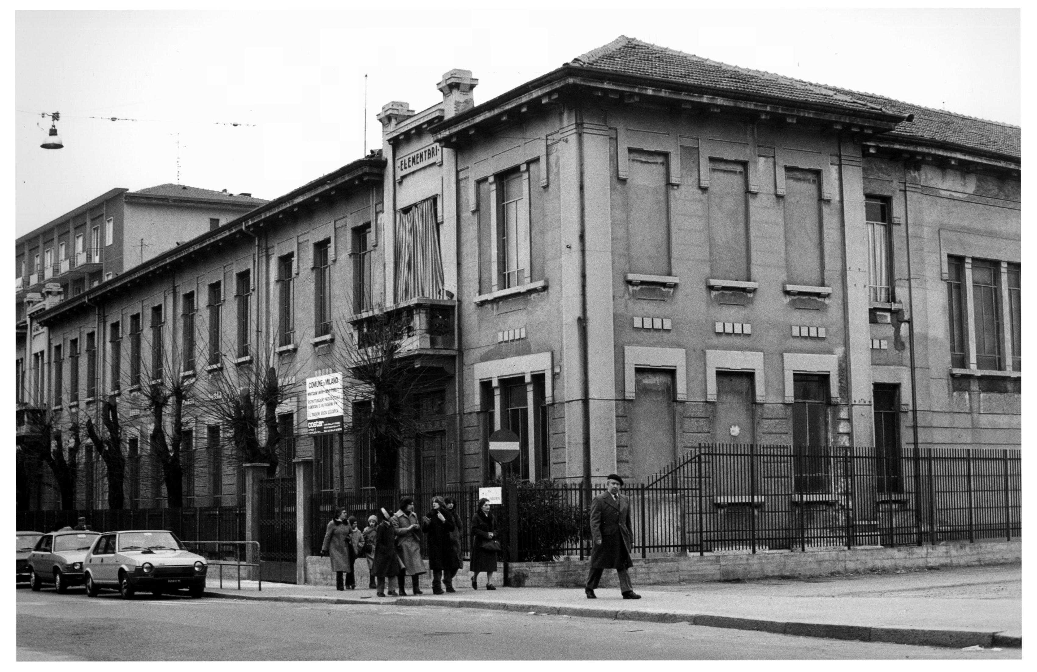 Via Passerini - Scuola elementare Vittorio Locchi